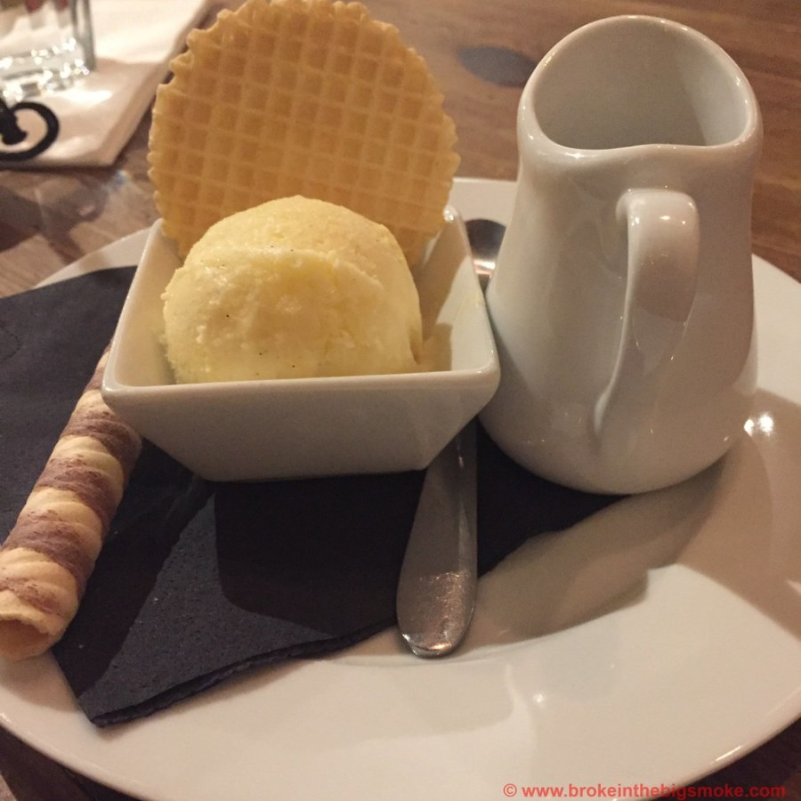 Pasta Remoli Finsbury Park - Affogato al caffe