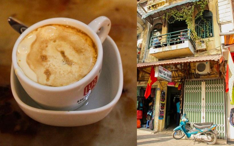 kaffe i Hanoi