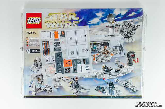 REVIEW Star Wars LEGO 75098 Assault on Hoth (HelloBricks)
