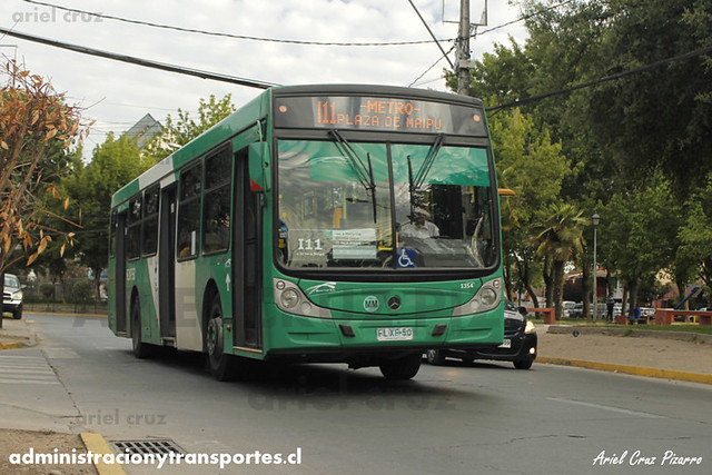 Transantiago - Buses Vule - Caio Mondego H / Mercedes Benz (FLXF50) (1354) (I11)