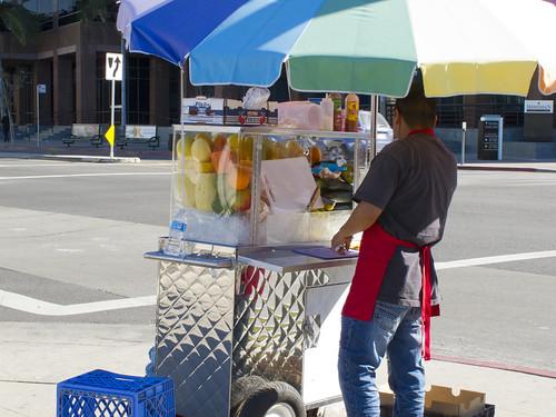 121 Fruta en Los Ángeles