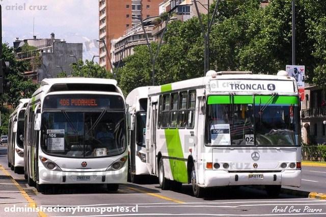 Transantiago (406) - Express - Marcopolo Gran Viale / Marcopolo Torino GV