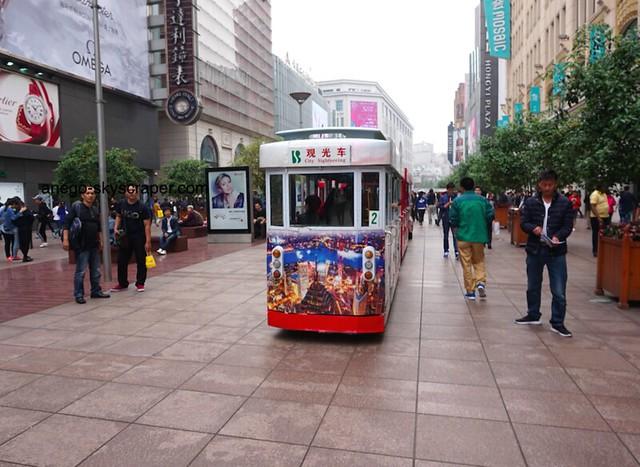 南京東路 小さなトラム