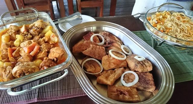 luch amazon tupana lodge buffet