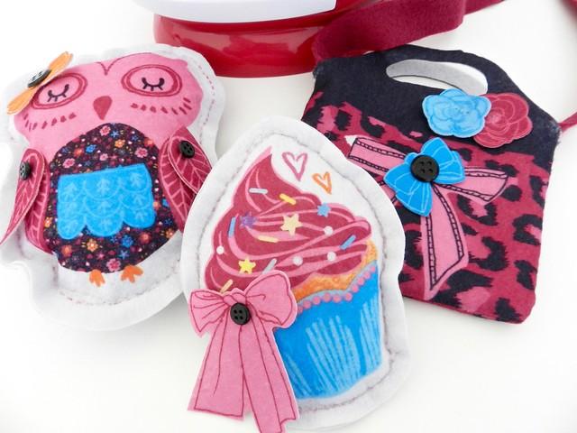 plushies realizzati con Sew Cool
