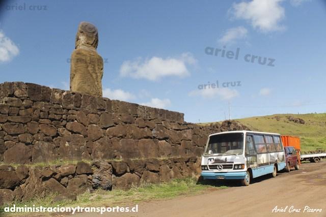Ahu Riata & Bus particular - Isla de Pascua