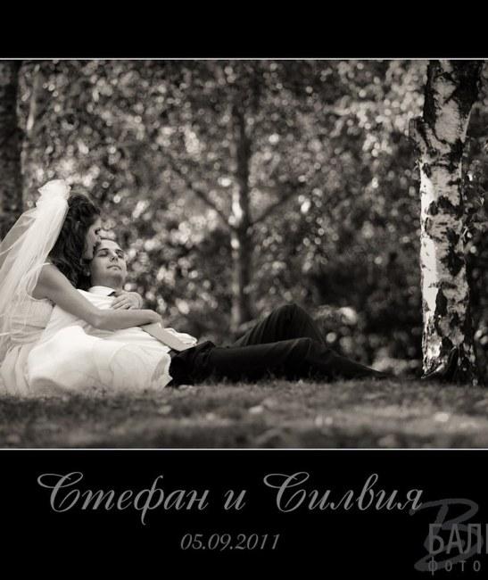Сватбен албум - Силвия и Стефан
