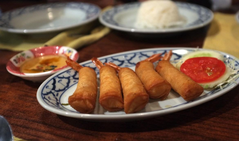 Dinner at Ban Khun Mae