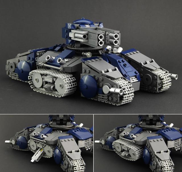 StarCraft 2 Siege Tank - Tank Mode