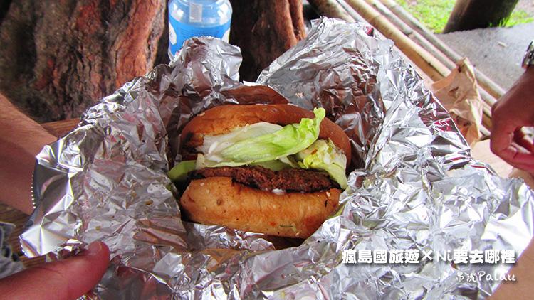 26帛琉美味素食漢堡