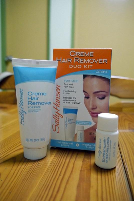 Sally Hansen Creme Hair Remover 20130528_235645
