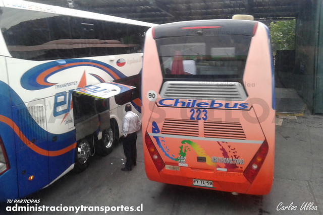 Chilebus Internacional - Santiago - Zhongtong Navigator (FYTL59) (223)