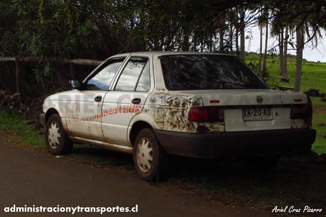 Taxi Isla de Pascua | Nissan V16 (XK2043)