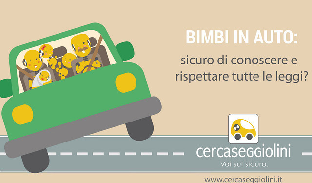 sicurezza dei bambini in auto