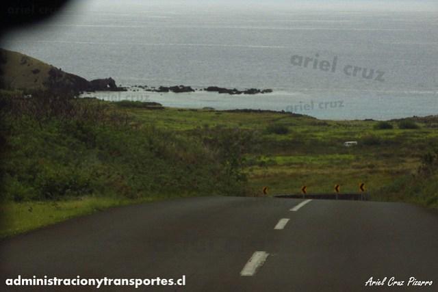 Camino - Isla de Pascua