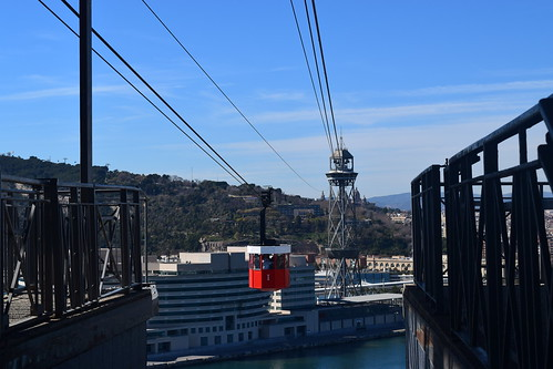 Cable Car at Port Vell