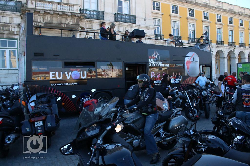Concentração de Motards - Rock In Rio Lisboa