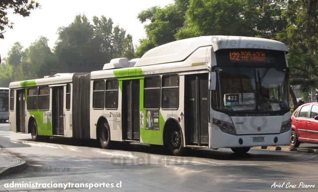 Transantiago - Express de Santiago Uno - Busscar Urbanuss / Volvo (ZN6728)