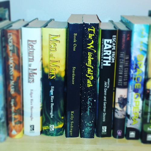 Day 1, #AuthorLifeMonth: My books! If all goes according to plan, there will be four this time next year!