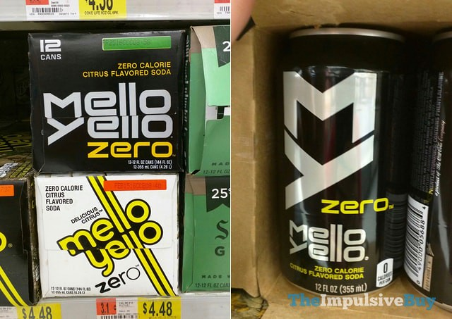 New Mello Yello Zero Can Design