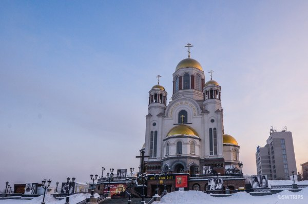 Cathedral of the Saviour on-the-Spilled-Blood, Yekaterinburg