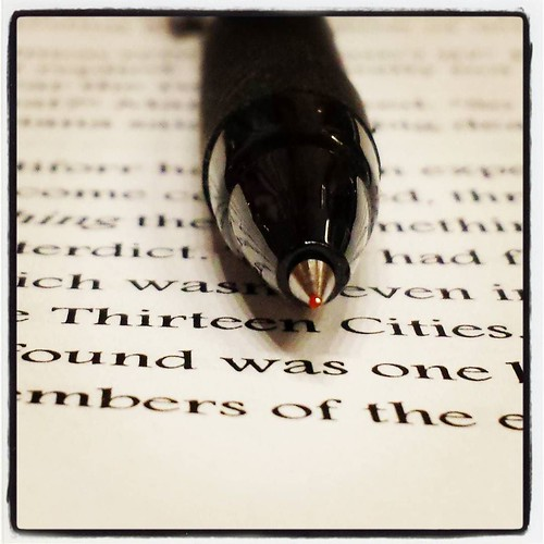 Red Pen Time may be my favorite part of this process. #editing #amwriting