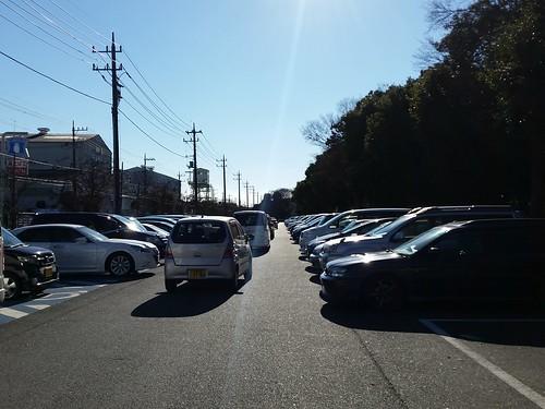 それにしても連休中日だからか駐輪場がすごい混んでました@昭和沼
