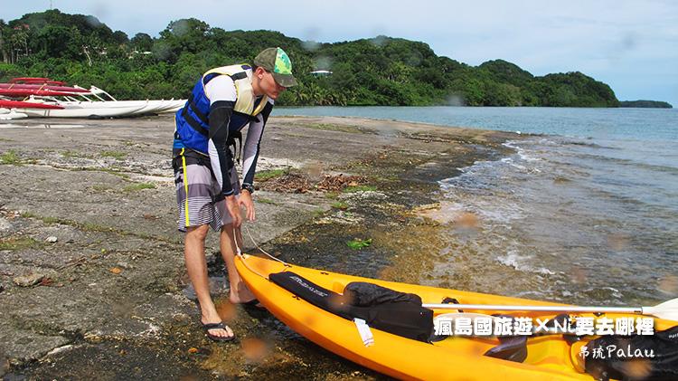 09帛琉獨木舟