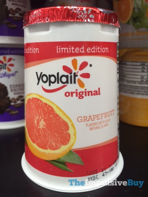 Limited Edition Yoplait Original Grapefruit Yogurt