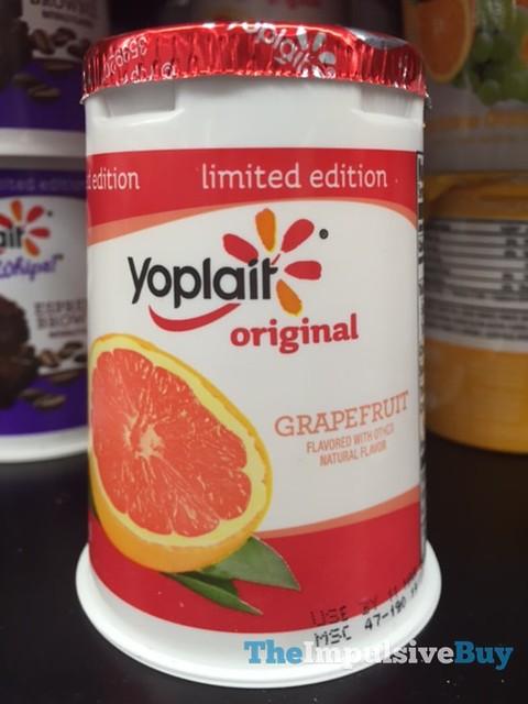 Limited Edition Yoplait Original Grapefruit Yogurt
