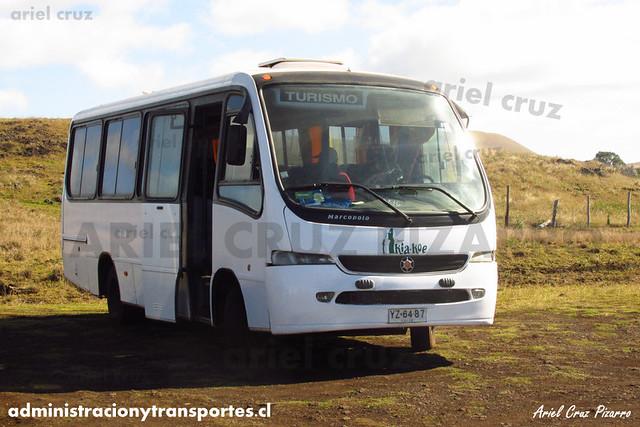 Turismo Kia Koe - Isla de Pascua - Marcopolo Senior / Volkswagen (YZ6487)