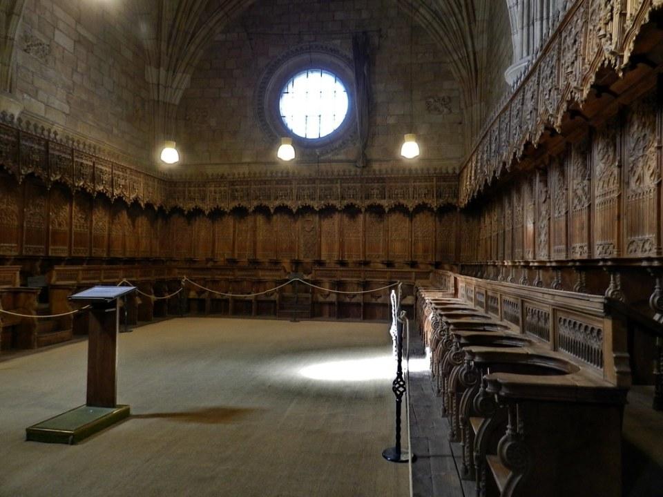 Coro Iglesia Real Monasterio de Santo Tomás Avila 10