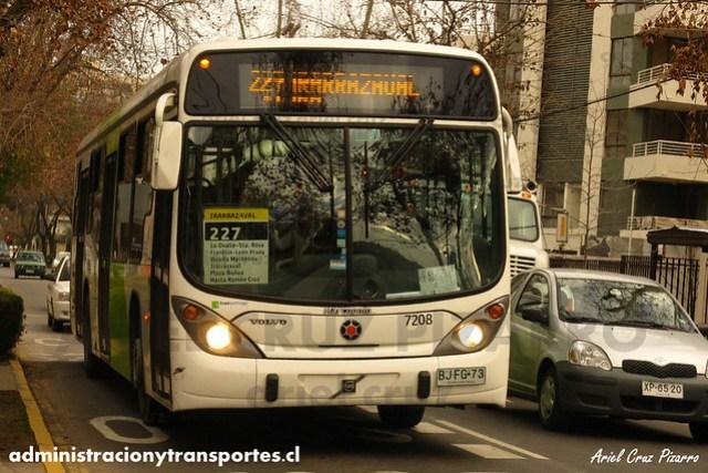 Transantiago (227) - Subus Chile - Marcopolo Gran Viale / Volvo (BJFG73) (7208)