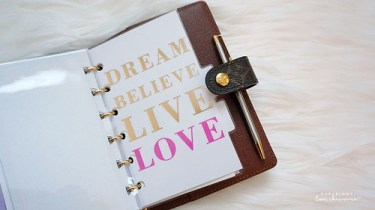 LV Agenda PM | LoveCharmaine.com