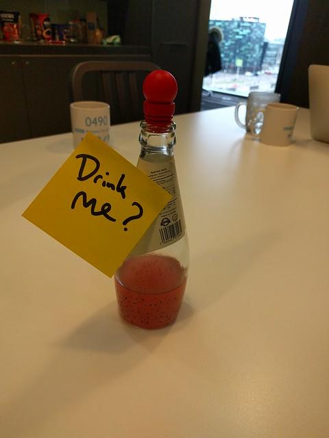 Drink me?