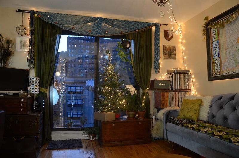 New York City Christmas Apartment