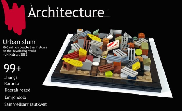 Lego Architecture Slum city