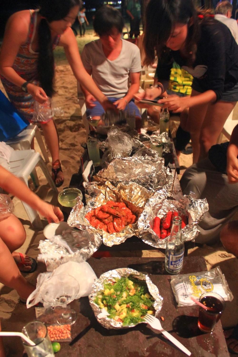 Boracay November 2013 - Seafood from Wet Market @ D'Talipapa