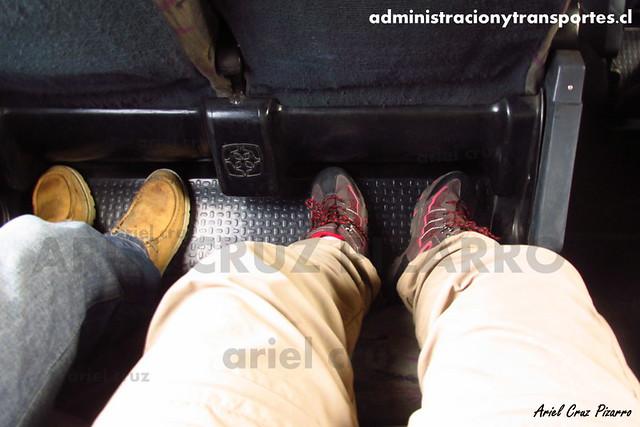 Pullman Carmelita - Interior - Busscar Jum Buss 400T / Mercedes Benz (SF1809) (63)