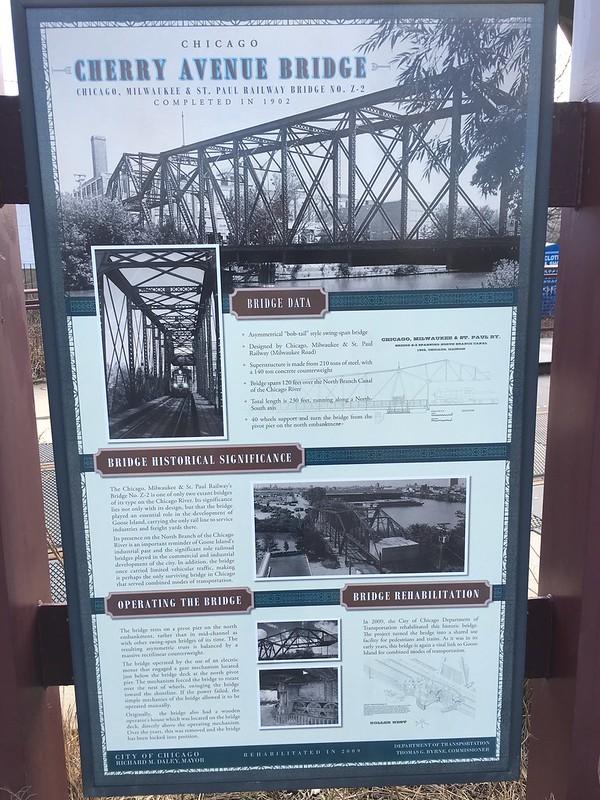 Cherry Avenue historical bridge