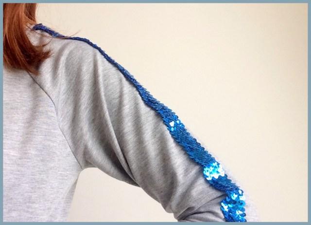 glitter sweater