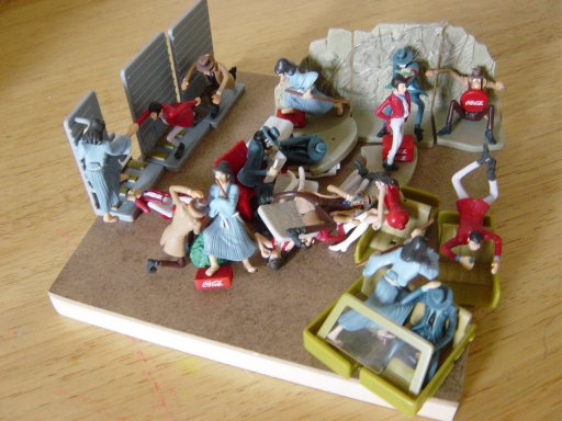 Lupin figure collection