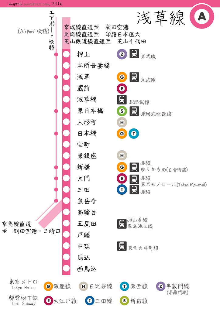 toei_asakusa_detail | map tabi | Flickr