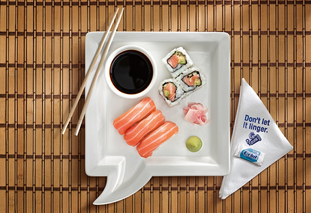 Wrigley Orbit Gum - Sushi