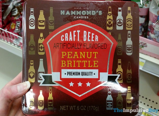 Hammond's Candies Craft Beer Peanut Brittle