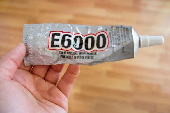 E6000 Glue Materials for DIY Bug Repellent Candle