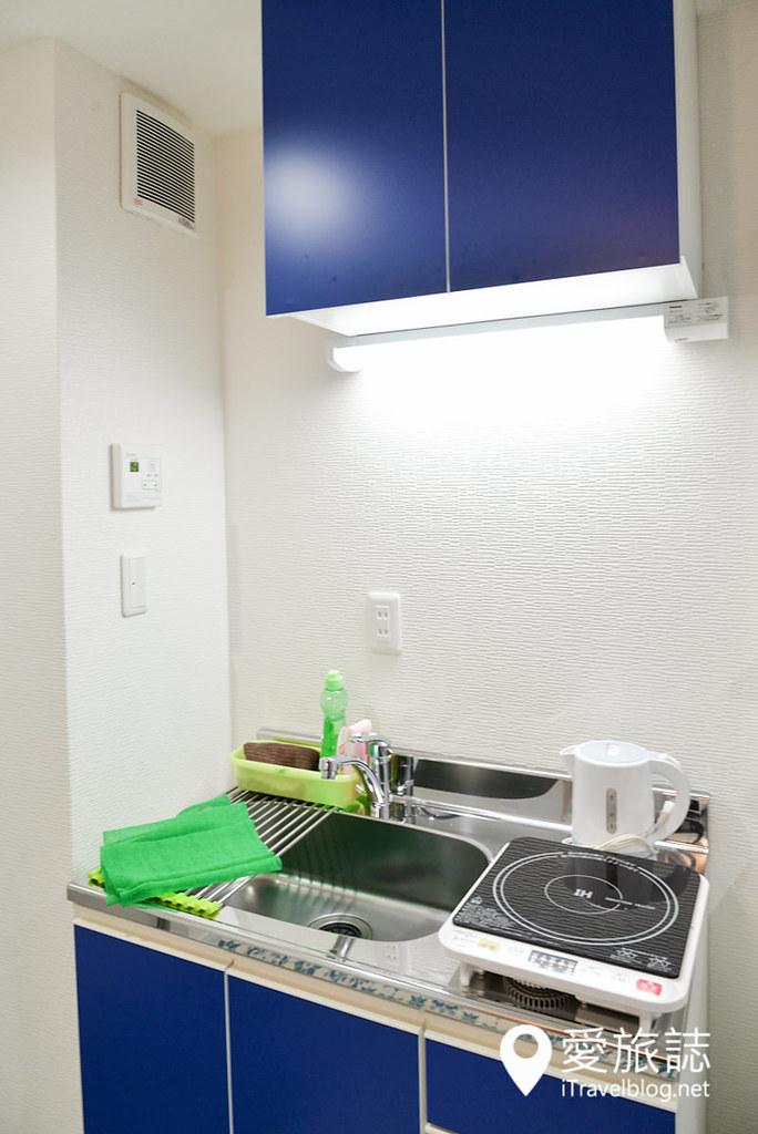 《大阪酒店推介》鹤桥私人公寓 Condominium Residenzi:觅食与交通方便,步行可达地下铁、JR与近铁车站