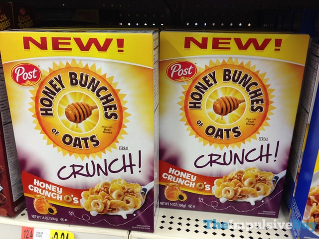 Post Honey Bunches of Oats Crunch Honey Crunch O's