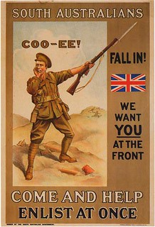 WWI Australian Enlistment Poster