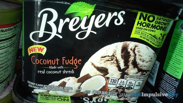 Breyers Coconut Fudge Ice Cream